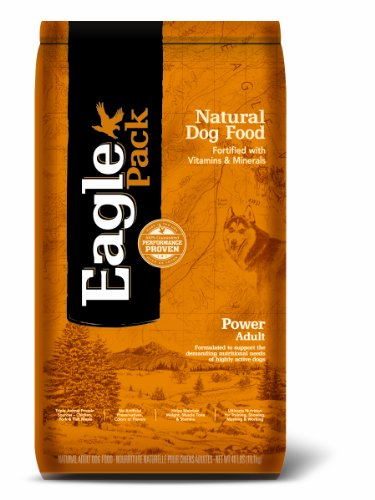 Eagle Pack Natural Pet Food, Power Adult Formula For Dogs, 40 Lb Bag