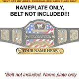 Best United States Gifts Adults - Personalized Nameplate for Adult WWE United States Championship Review
