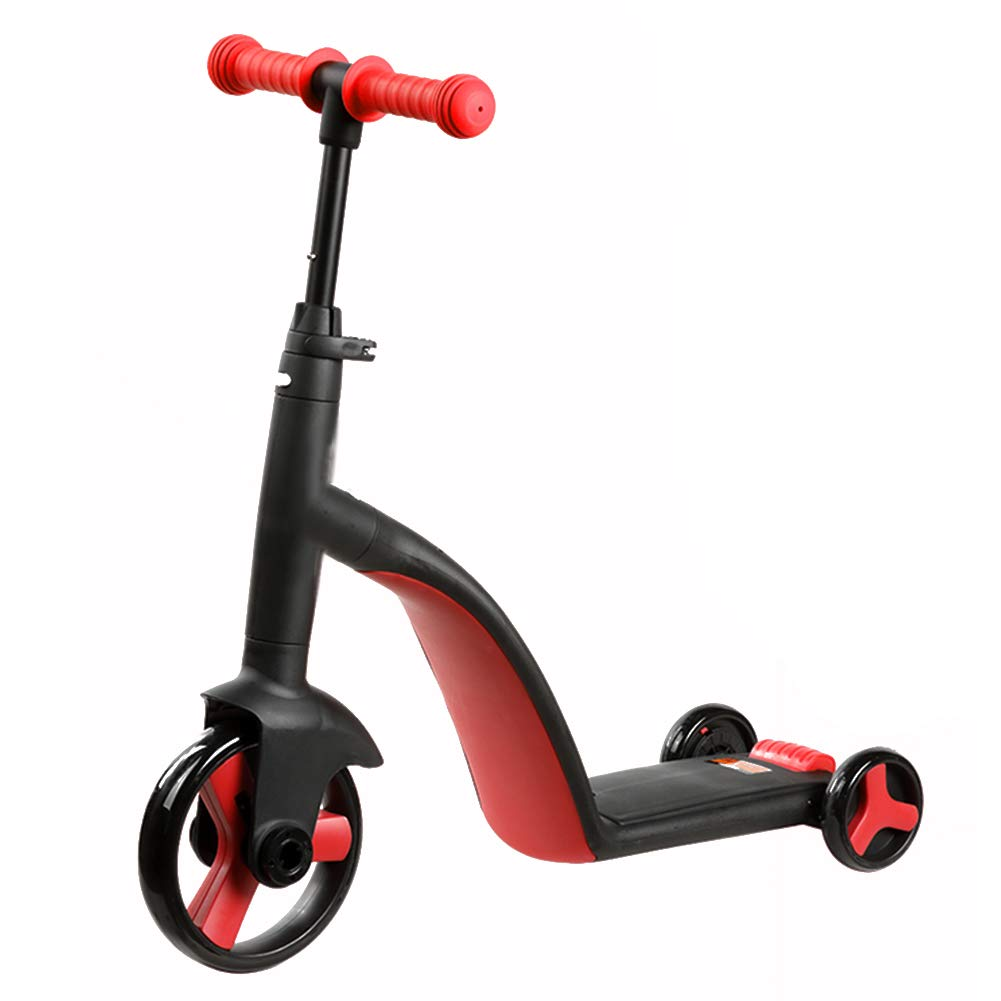 素晴らしい品質 キックスクーター三輪車スケートボードペダル式乗用スタントスクーター折りたたみ Red Tバーハンドル調節可能な座席付きライトアップホイール付き B07H83CF31 B07H83CF31 Red Red, MARUYAMAYA:43f2eca4 --- a0267596.xsph.ru