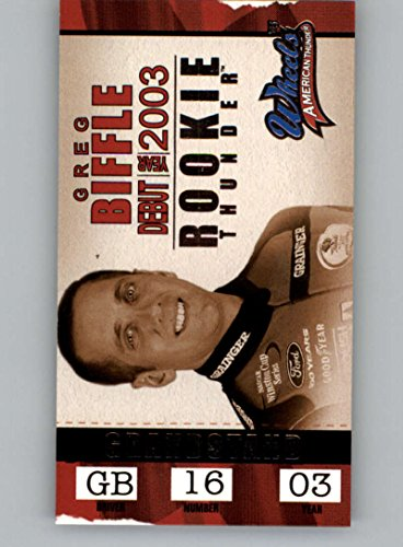 (2003 Wheels American Thunder Rookie Thunder #RT2 Greg Biffle NM-MT)
