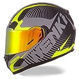NENKI Helmets NK-856 Full Face Motorcycle Helmets DOT Approved With Iridium...