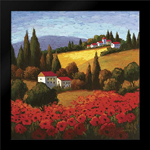 Tuscan Poppies Framed Art Print by Parrocel