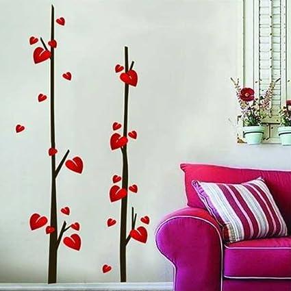 Bestofferbuy Adhesivo Para Decorar Pared Calcomania Dibujo Hojas - Dibujos-decorar-paredes