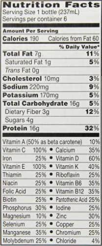 Boost Complete Nutritional Drink Calorie Smart, 8 Fluid Ounce, 6 Count (Pack of 4)