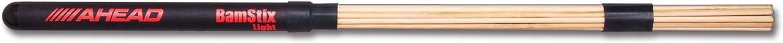 Ahead Bamstix - Baquetas para bater?a (con 15 varillas de bamb? ligeras)