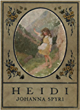Heidi (Gift Edition) [Illustrated by Maria Kirk]