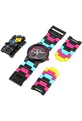 LEGO Kids' 8020233 Movie Wyldstyle Plastic Watch with Link Bracelet and Figurine