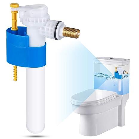 rovtop Válvula de llenado para inodoro De aclarado, Válvula flotador para caja de aclarado inodoro