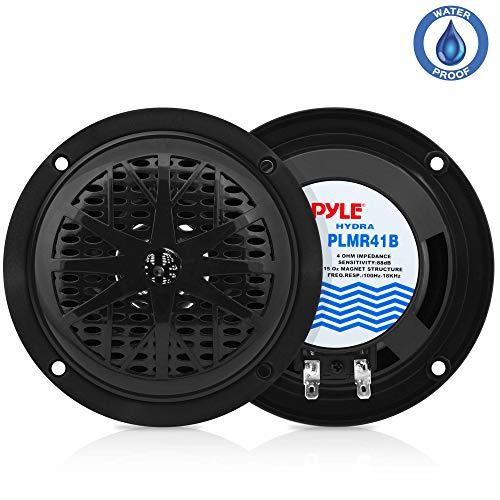 4-inch-dual-marine-speakers-waterproof-and-weather-resistant-outdoor-audio-stereo-sound-system-with-polypropylene-cone-cloth-surround-and-low-profile-design-1-pair-plmr41w-black