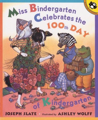 Miss Bindergarten Celebrates The 100th Day Of Kindergarten (Turtleback School & Library Binding Edition) (Miss Bindergarten Books (Pb)) for $<!--$15.48-->