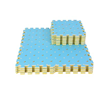 16 piezas de colchonetas de espuma impermeables para niños ...