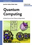 img - for Quantum Computing: A Short Course from Theory to Experiment book / textbook / text book
