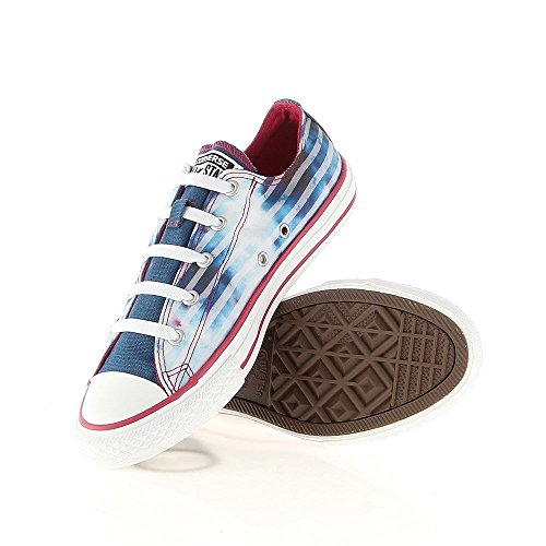 Converse - Chuck Taylor All Star CT Strch - Color: Azul-Azul marino-Blanco - Size: 28.5