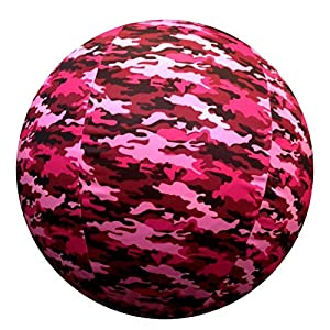 Horsemen's Pride Jolly Mega Ball Pink Camo Cover for Equine 23