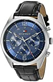 Tommy Hilfiger Men's 1791182 Sophisticated Sport Analog Display Quartz Black Watch