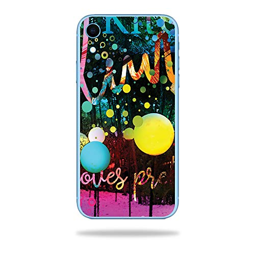 MightySkins Skin for Apple iPhone XR - Life Moves Fast | Protective, Durable, and Unique Vinyl Decal wrap Cover | Easy to Apply, Remove, and Change Styles | Made in The USA