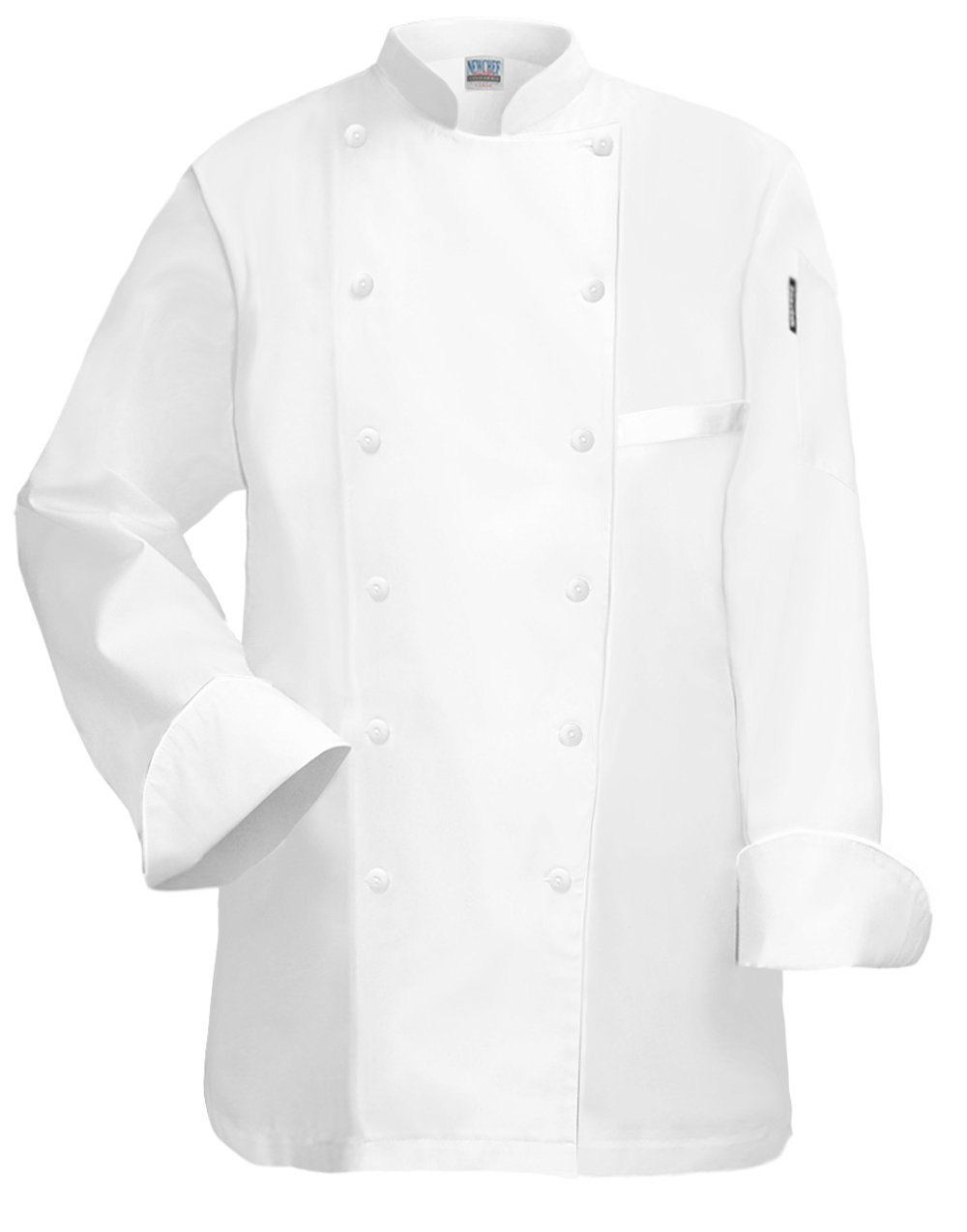 Newchef Fashion Princess Womens Chef Jacket XL White by Newchef Fashion