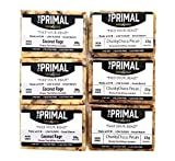 PALEO Friendly - PRIMAL Protein Bars by MariGold Bars (6 Chunky Pecan, 6 Coconut...