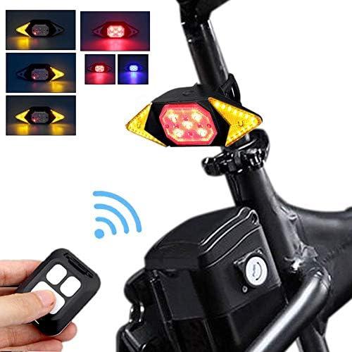 自転車のターンライト自転車のテールライトUSB自転車充電式テールライトリモート|自転車ライト