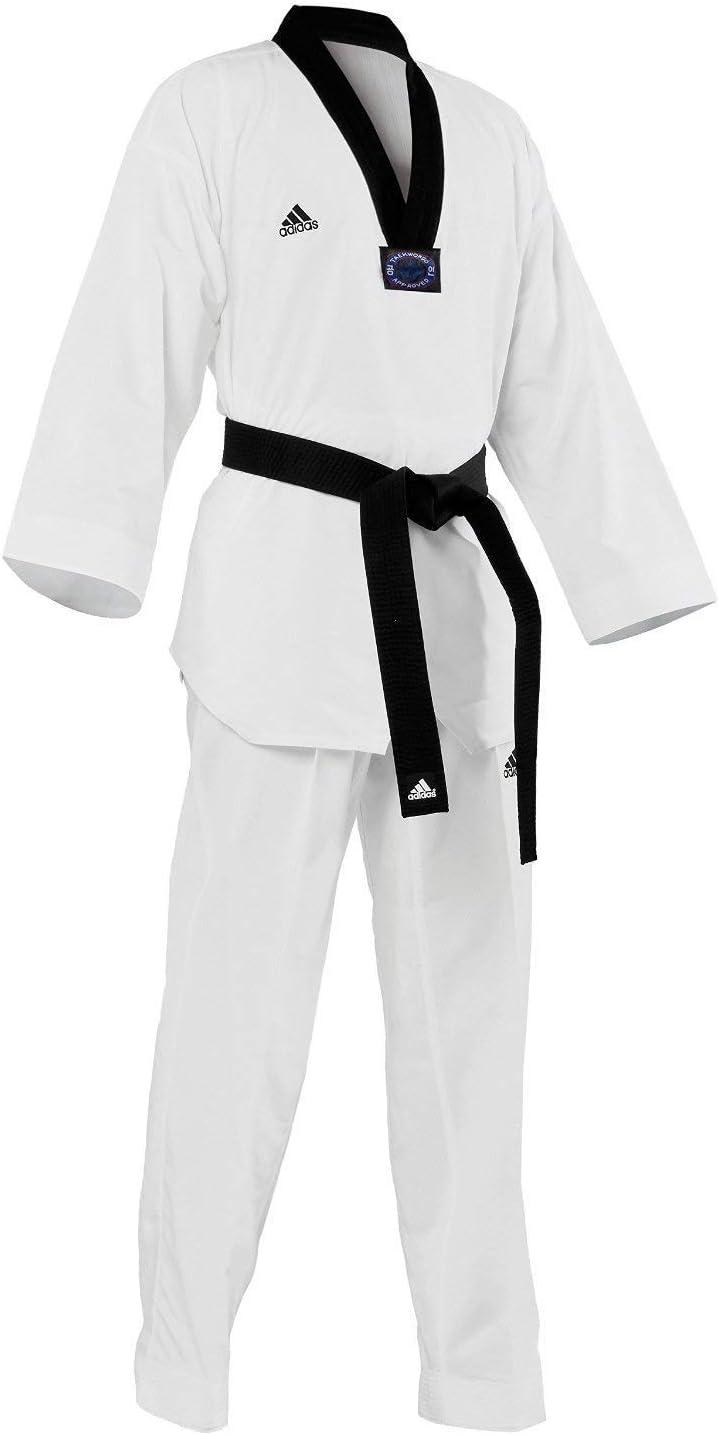 Adidas Taekwondo Dobok、黒-v  4/180cm