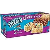 Kellogg's Rice Krispies Treats, Snack Bars Variety Pack, 16 Count Box