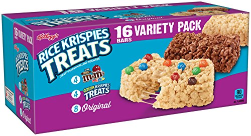 Review Kellogg's Rice Krispies Treats,