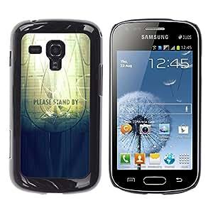 LECELL--Funda protectora / Cubierta / Piel For Samsung Galaxy S Duos S7562 -- Soporte por favor --