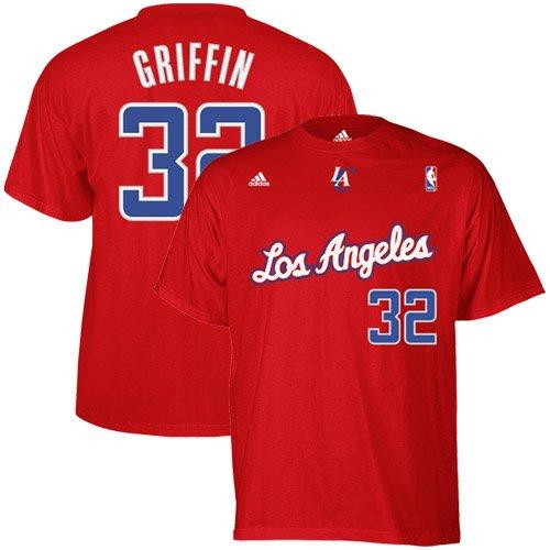 d58eb313e55 Amazon.com : Los Angeles Clippers Blake Griffin Adidas T Shirt (XL ...