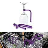 Adjust Wine Glass Goblet Holder Stemware Saver Unique Silicone Wine Glass Holder Flexible Dishwasher Attachment Kitchen Tools