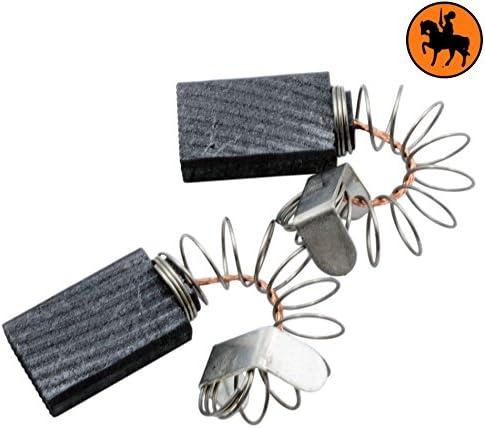 Balais de Charbon pour AEG SB2E601RL ponceuse 2.0x3.9x5.9 5x10x15,5mm