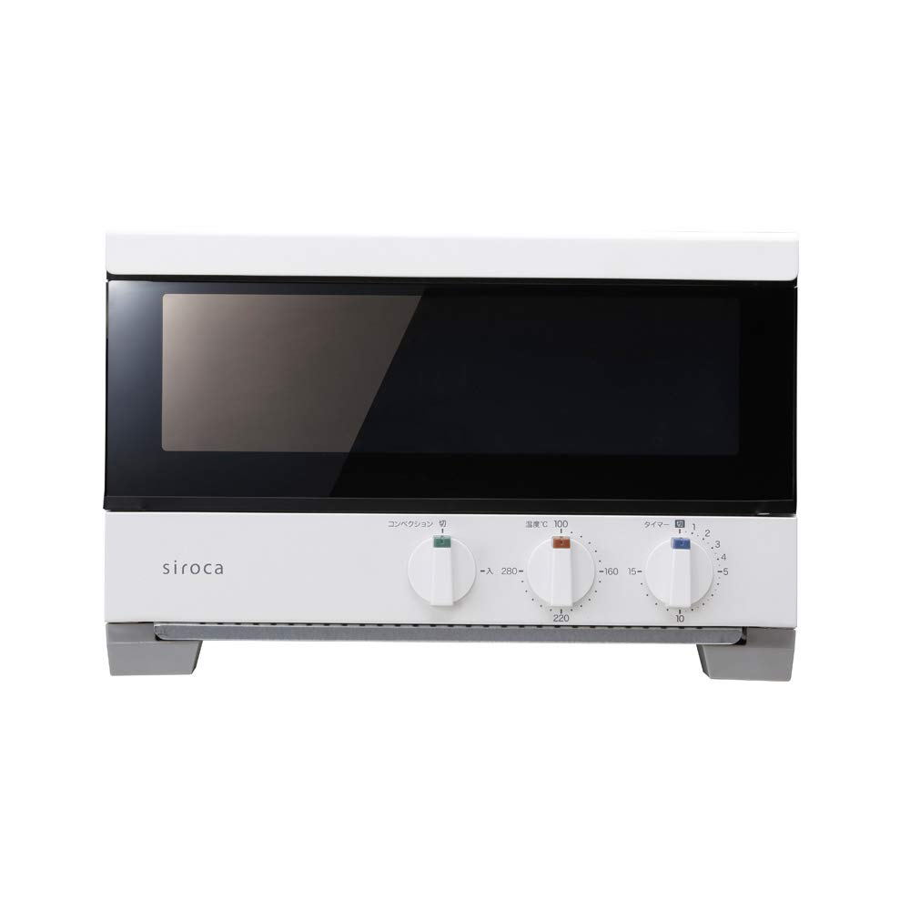 """siroca Premium Toaster Oven (2 slice Bake)""""SUBAYAKI (Bake Quickly)"""" ST-2A251-W (WHITE)【Japan Domestic Genuine Products】【Ships from Japan】"""