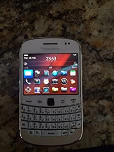 BlackBerry Bold 9900 GSM Unlocked Touch Screen QWERTY Keypad Phone - White
