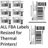 Amazon FBA Label Split Resizer Software Print Direct to Thermal Printer Free Labels 6-Month Subscription SPLITALL-6MONTH-NPF!
