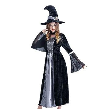 Miedo Halloween Mujer Sexy Traje Bruja Vestido Mascarada Carnaval ...