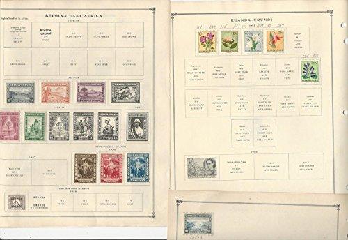 Belgium Colonies on Minkus & Scott International Pages