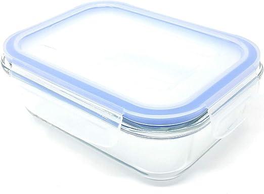 4X Congelador para Horno Seguro 950ML Cristal Recipiente ...