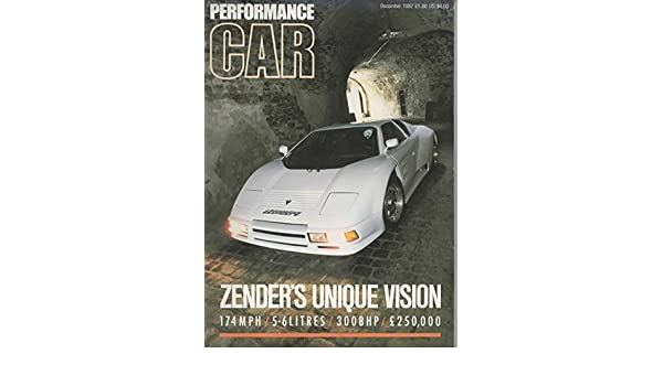 Performance Car Magazine, December 1987 (Vol 5, No 12): John Henderson, Paul Harwood, Alison Neves, Jesse Crosse: Amazon.com: Books