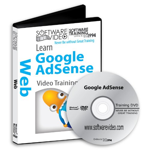 Software Video Learn Google AdSense Training DVD Sale 60% Off training video tutorials DVD Over 2 Hours of Video - Registration Newsletter