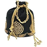 UB Potli Bag with Attractive Handicraft Thread Work for Female