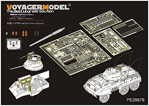 ボイジャーモデル 1/35 第二次世界大戦 アメリカ軍 M8装甲車 エッチング基本セット (タミヤ35228用) プラモデル用パーツ PE35679の商品画像