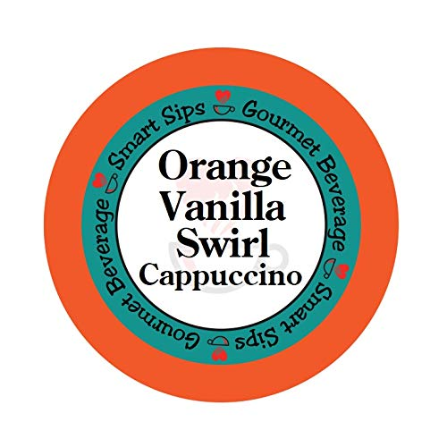 (Orange Vanilla Swirl Cappuccino, for Keurig K-cup Brewers, 24 Count Gourmet)