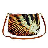 Satchel bags canvas for women Butterfly Parthenos sylvia