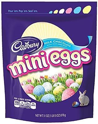 CADBURY MINI EGGS Candy (31-Ounce Bags) from Cadbury