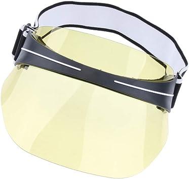 CUTICATE Sombrero Visera de Plástico UV Protección Gorra de ...