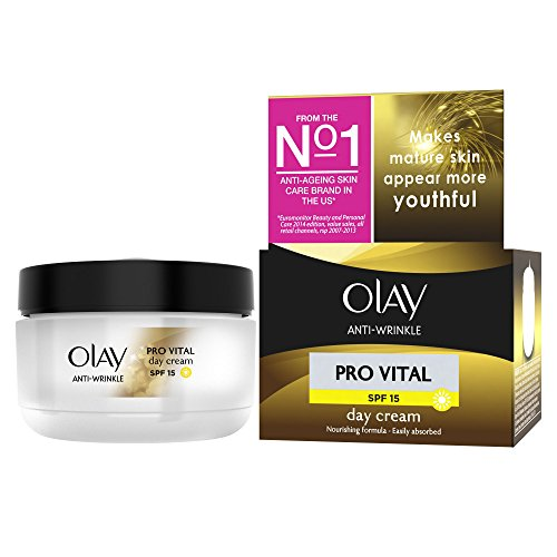 Olay Anti-Wrinkle Pro Vital Anti-Ageing Moisturiser Day Cream Spf15 50Ml
