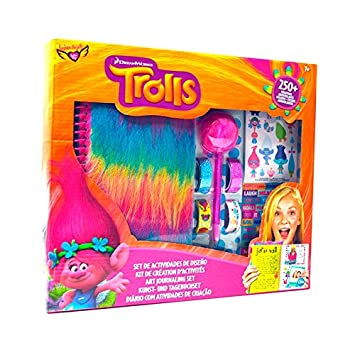 TROLLS - Kit Agenda fantasía con Accesorios (Fashion Angels ...