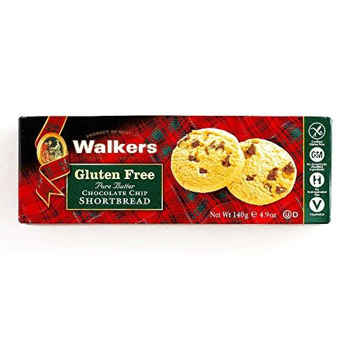 (Walkers Gluten-Free Chocolate Chip Shortbread 4.9 oz each (1 Item Per Order))