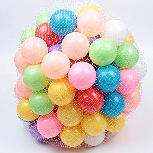 春新作の レアル5.5センチメートルベビーキッドのためのカラフルなボールソフトプラスチックオーシャンボール(100個)をリラックス B07QV18MMR B07QV18MMR, 枚方市:b76c3116 --- fenixevent.ee