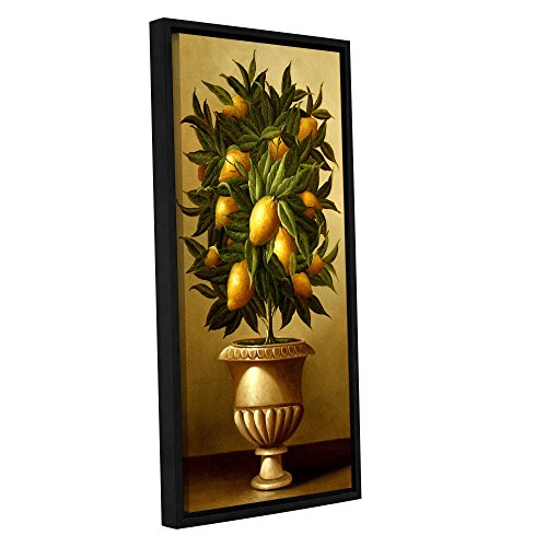Welby ''Lemon Topiary In Marble Urn'' Removable Wall Art Mural