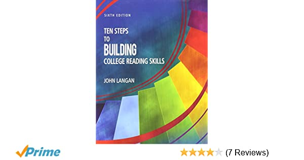 Ten steps to building college reading skills john langan ten steps to building college reading skills john langan 9781591944645 amazon books fandeluxe Gallery